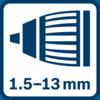 Autolock chuck 1.5 - 13.0 mm