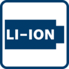No self-discharge, no memory effect and a higher energy density thanks to Li-Ion battery technology