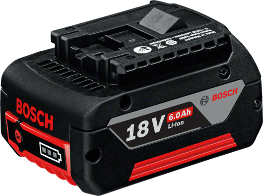 in cardboard box with 1 x 6.0 Ah Li-ion battery