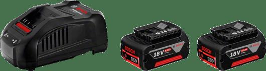 2 x GBA 18V 6.0Ah + GAL 1880 CV Professional